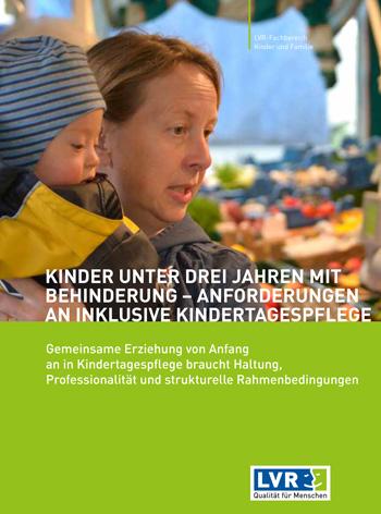 Broschüre Inklusive Kindertagespflege